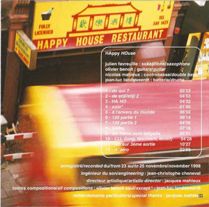 "1er album ""Happy House"""